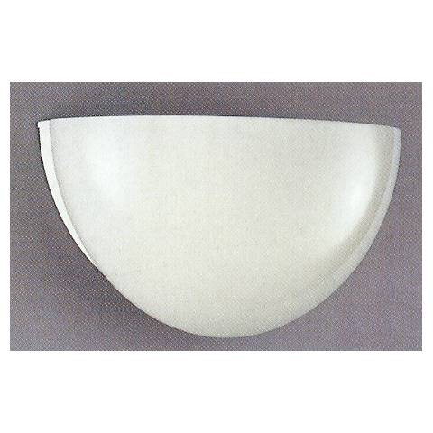 """Half Sphere 11 1/2"""" Wide Wall Sconce"""
