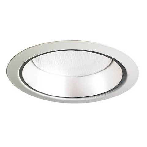 """6"""" Line Voltage Pewter Recessed Light Trim By Cree"""