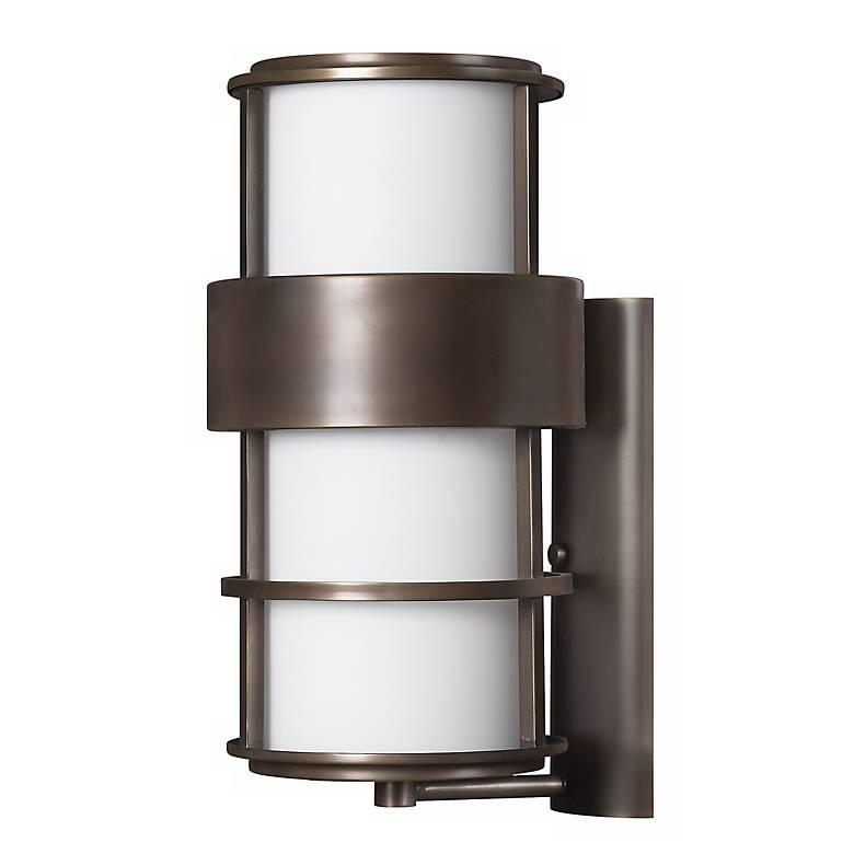 "Hinkley Saturn Metro Bronze 20 1/4"" High Outdoor Wall Light"