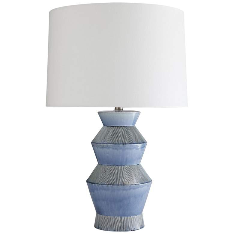 Arteriors Home Ogden Provincial Blue Porcelain Table Lamp