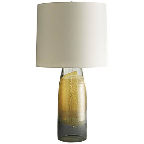 Arteriors Home Marek Smoke with Silveria Glass Table Lamp