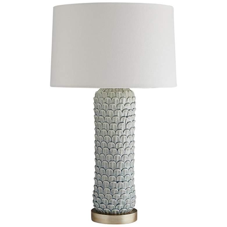 Arteriors Home Macaw Celadon Crackle Porcelain Table Lamp