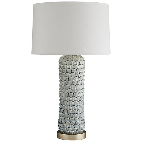 Arteriors Home Macaw Celadon Crackle Porcelain Table Lamp