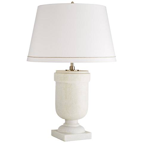 Arteriors Home Odysseus Faux Marble Urn Table Lamp