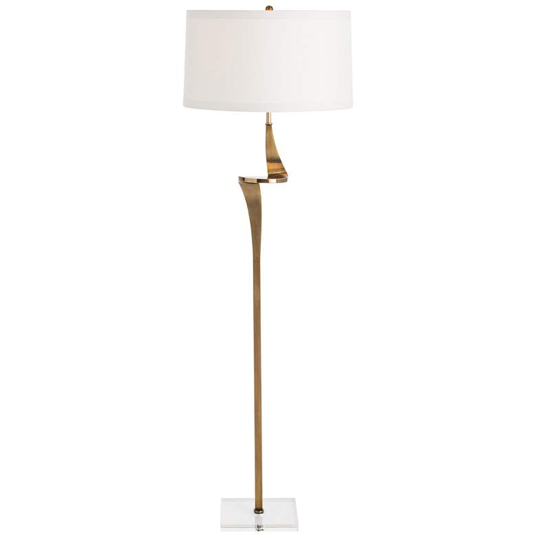 Arteriors Home Roosevelt Antique Brass Floor Lamp