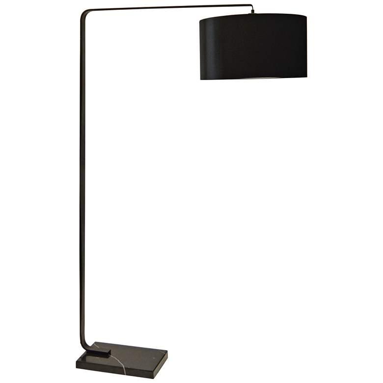 Belitta Black Metal Floor Lamp