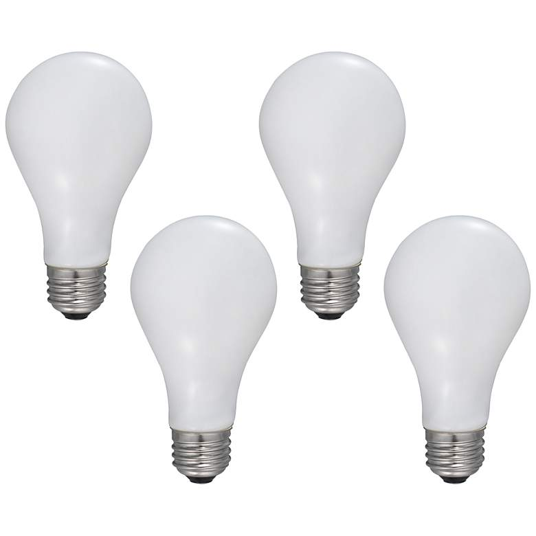 100W Equivalent Frosted 12W LED Dimmable Standard A21 4-Pack