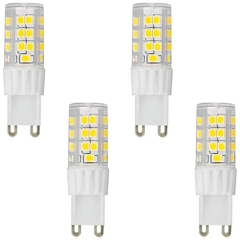 50W Equivalent Tesler 5W LED Dimmable G9 Base Bulb 4-Pack