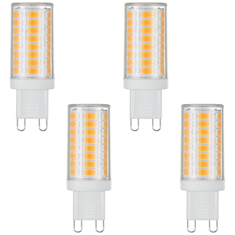 40W Equivalent Tesler 4 Watt LED Dimmable G9 Bulb 4-Pack