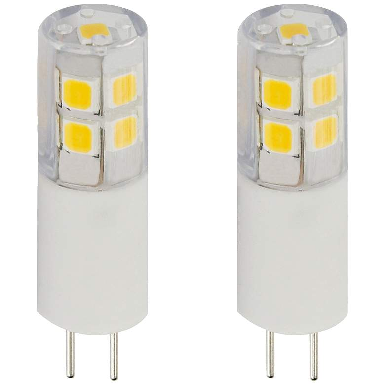25W Equivalent Clear Tesler 2W LED Dimmable G4