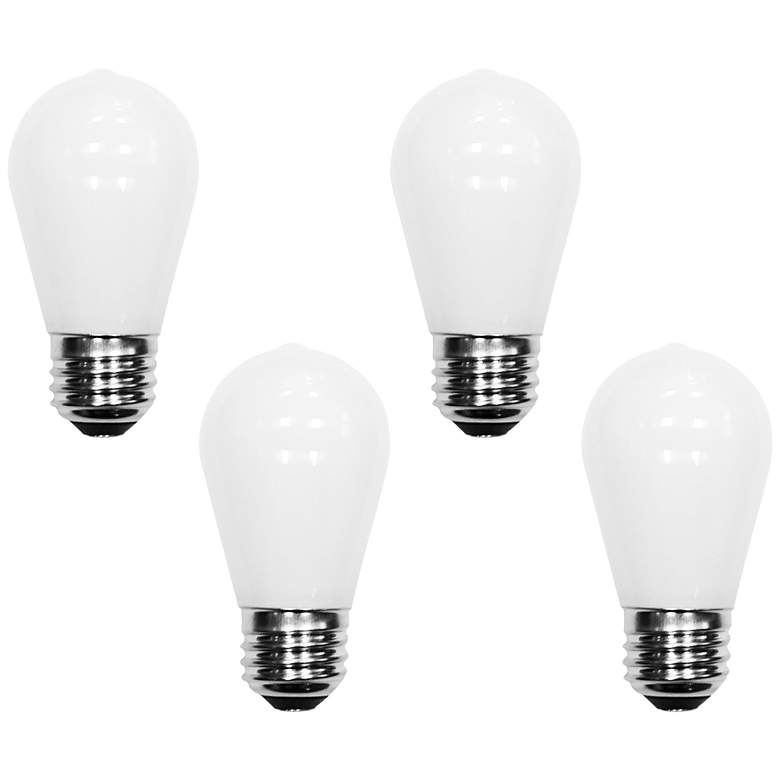 40W Equivalent Tesler 4W LED Dimmable Standard 4-Pack
