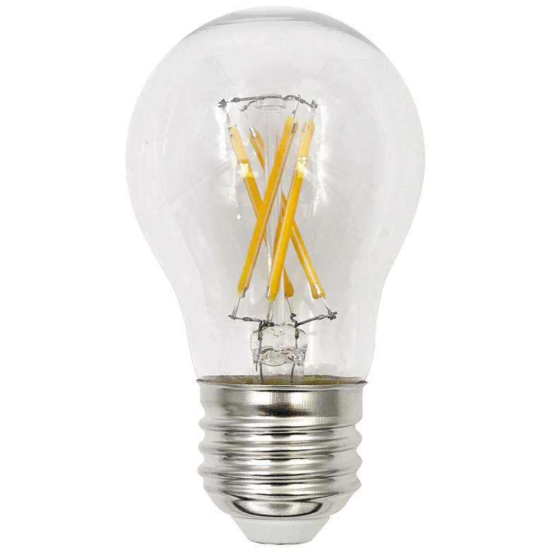 40W Equivalent Clear 4W LED Dimmable Standard A15
