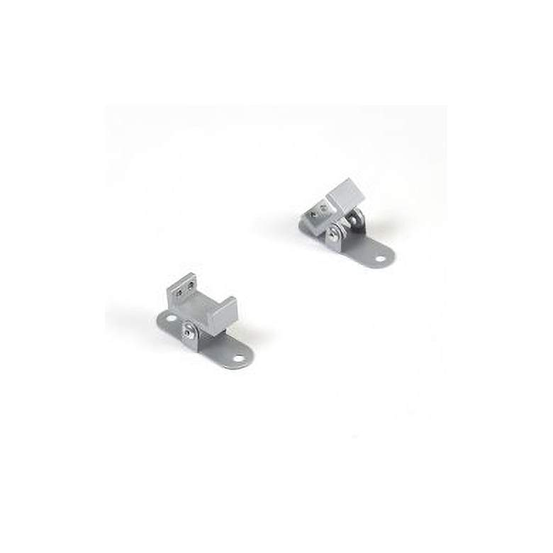 """WAC 1.8""""W Adjustable Clips for InvisiLED Channel Pack of 2"""