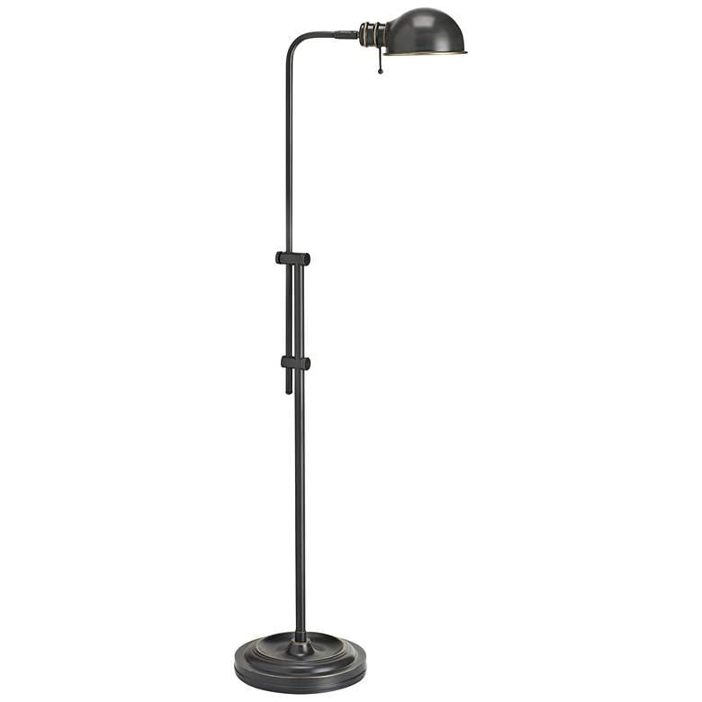 Bixby Brushed Bronze Metal Pharmacy Floor Lamp
