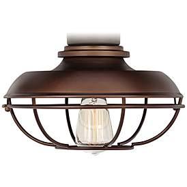 Led Franklin Park Bronze Damp Ceiling Fan Light Kit