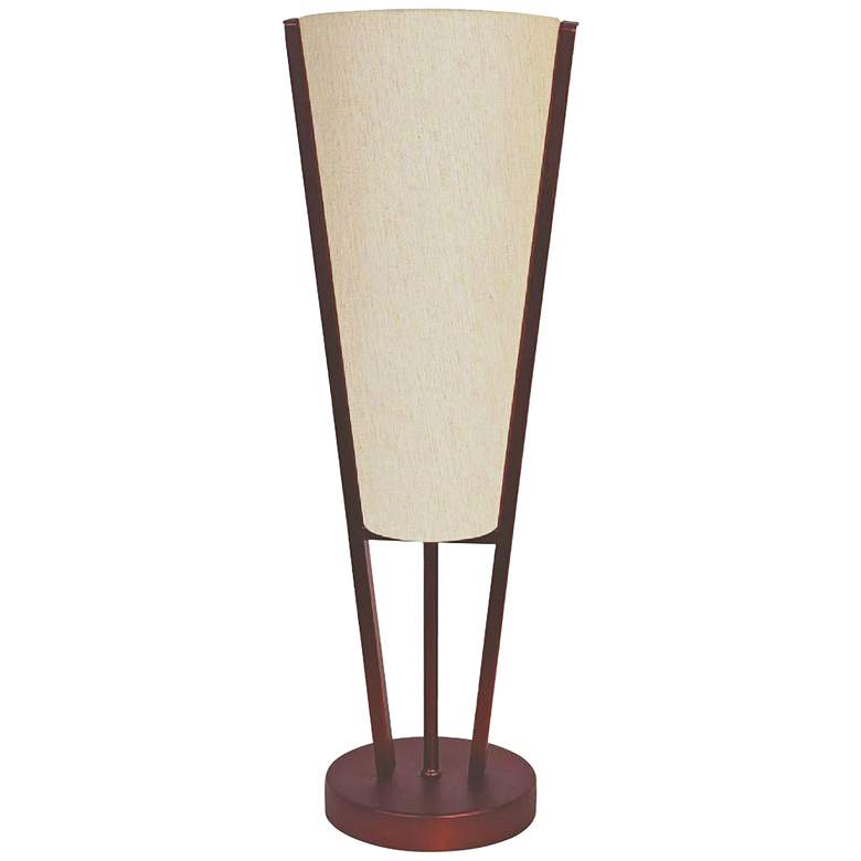 "Emotions 19"" High Oil-Brushed Bronze Accent Table Lamp"