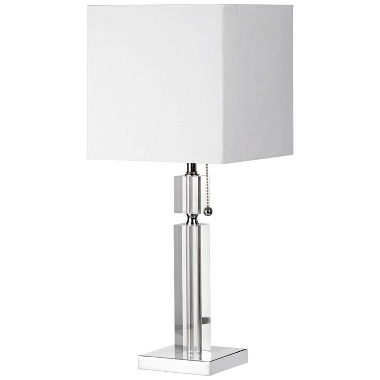 Asplund Polished Chrome and Acrylic Table Lamp