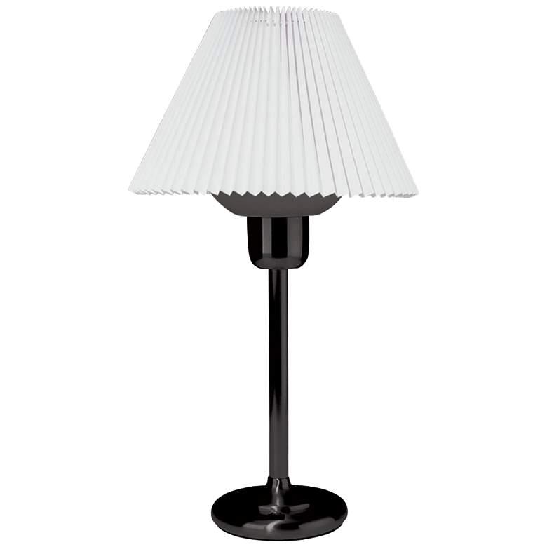 Quip Black Metal Table Lamp with 200 Watt Bulb