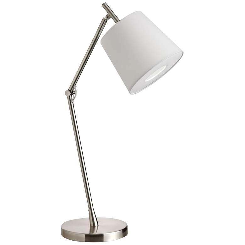 Dainovision Satin Chrome Desk Lamp
