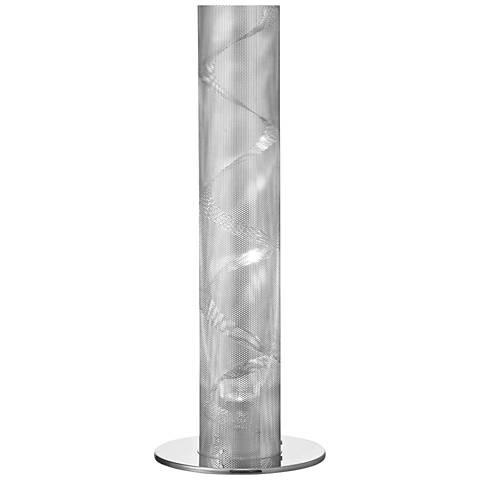 Umbra Polished Chrome Mesh Table Lamp