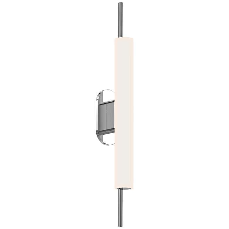 "Piccolo Encore 24""H Polished Chrome LED Outdoor Wall Light"