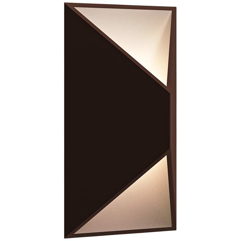 "Inside Out Prisma 11"" High Bronze LED Outdoor"