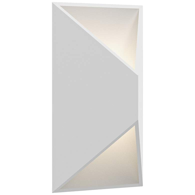 """Inside Out Prisma 11"""" High White LED Outdoor Wall Light"""