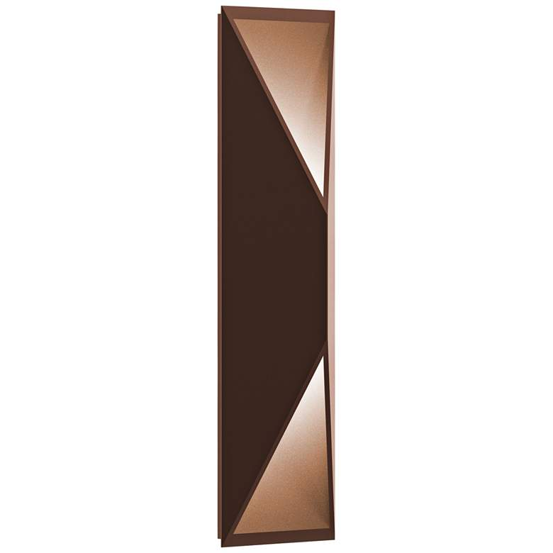"""Inside Out Prisma™ 18"""" High Bronze LED Outdoor Wall Light"""