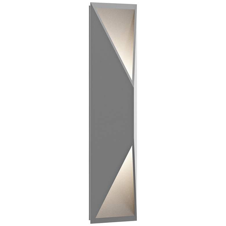 """Inside Out Prisma™ 18"""" High Gray LED Outdoor Wall Light"""