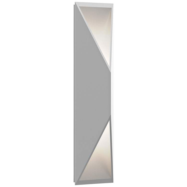 """Inside Out Prisma™ 18"""" High White LED Outdoor Wall Light"""
