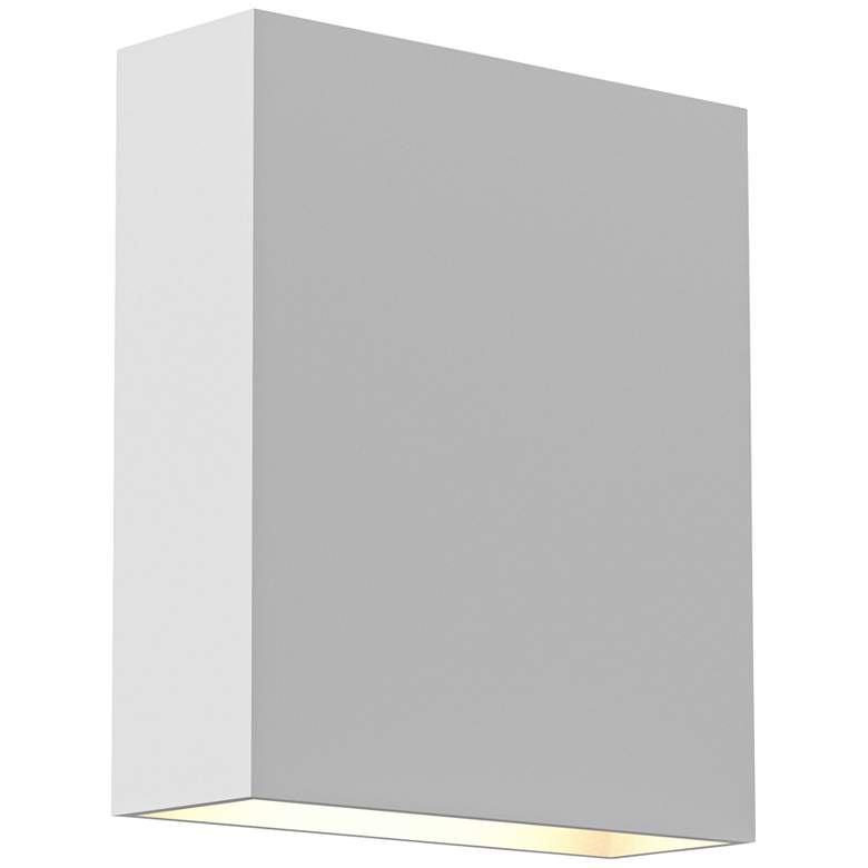 """Inside Out Flat Box™ 7"""" High White LED Outdoor Wall Light"""