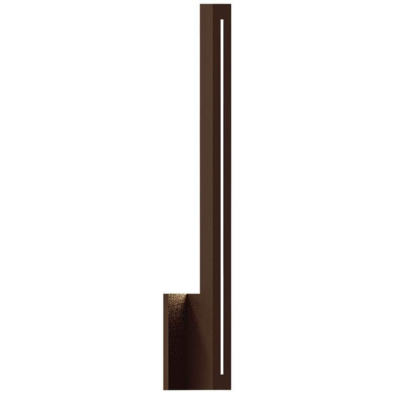 """Inside Out Stripe™ 24"""" High Bronze LED Outdoor Wall Light"""