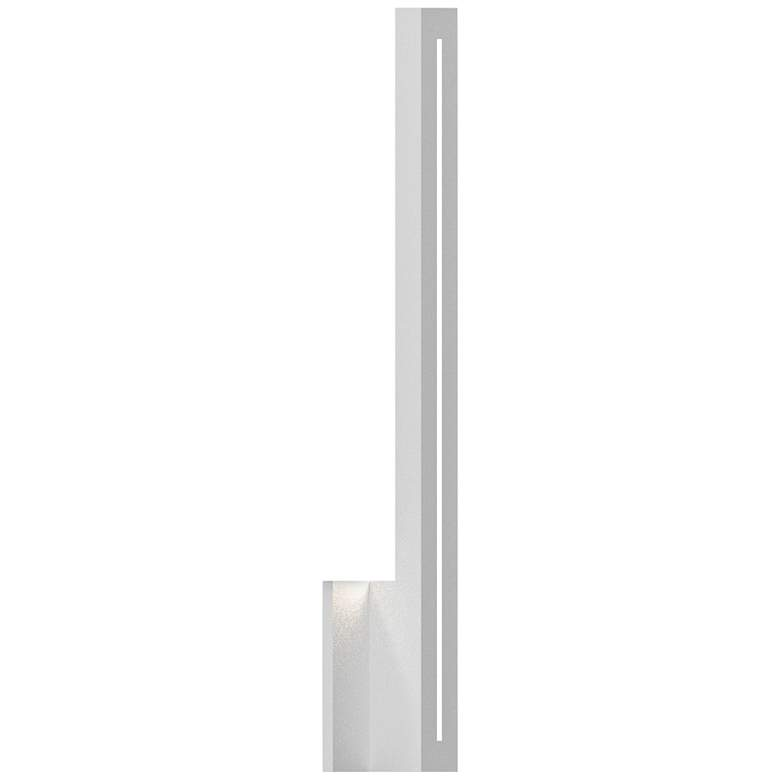 """Inside Out Stripe™ 24"""" High White LED Outdoor Wall Light"""