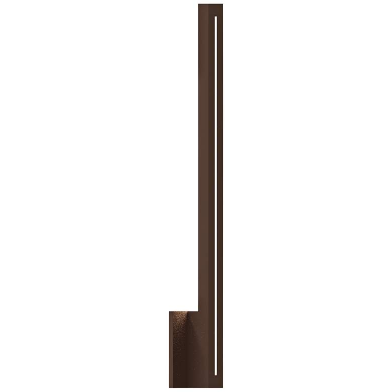 """Inside Out Stripe™ 30"""" High Bronze LED Outdoor Wall Light"""