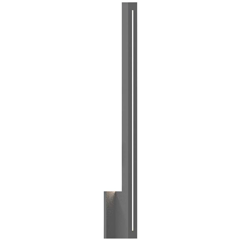 """Inside Out Stripe™ 30"""" High Gray LED Outdoor Wall Light"""
