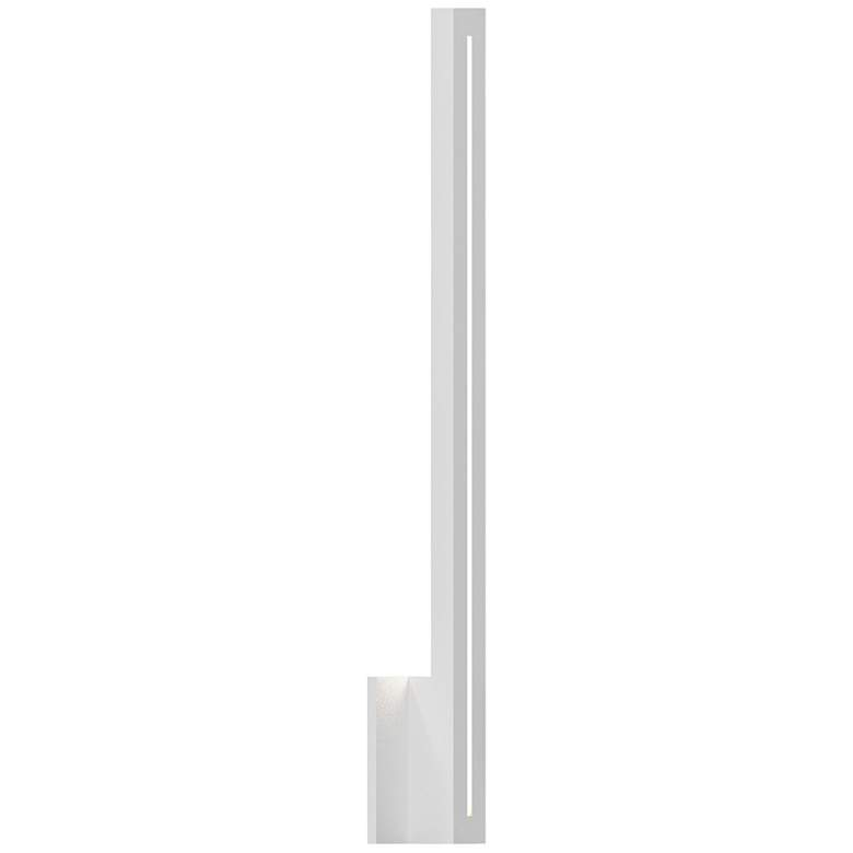 "Inside Out Stripe™ 30"" High White LED Outdoor Wall Light"