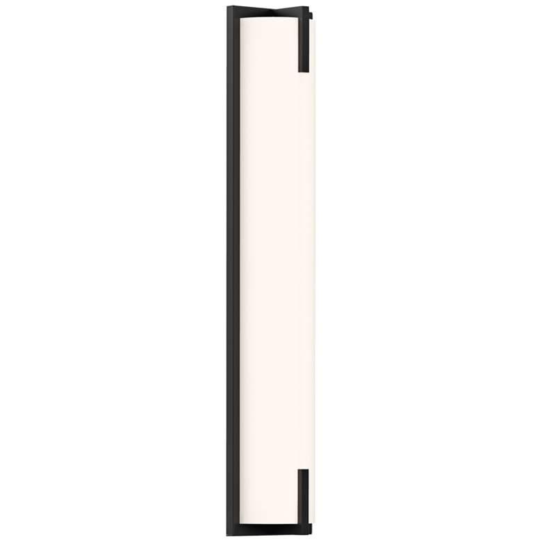 """Sonneman New Edge™ 24"""" High Satin Black LED"""
