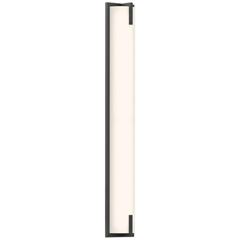 """Sonneman New Edge™ 32"""" High Satin Black LED"""