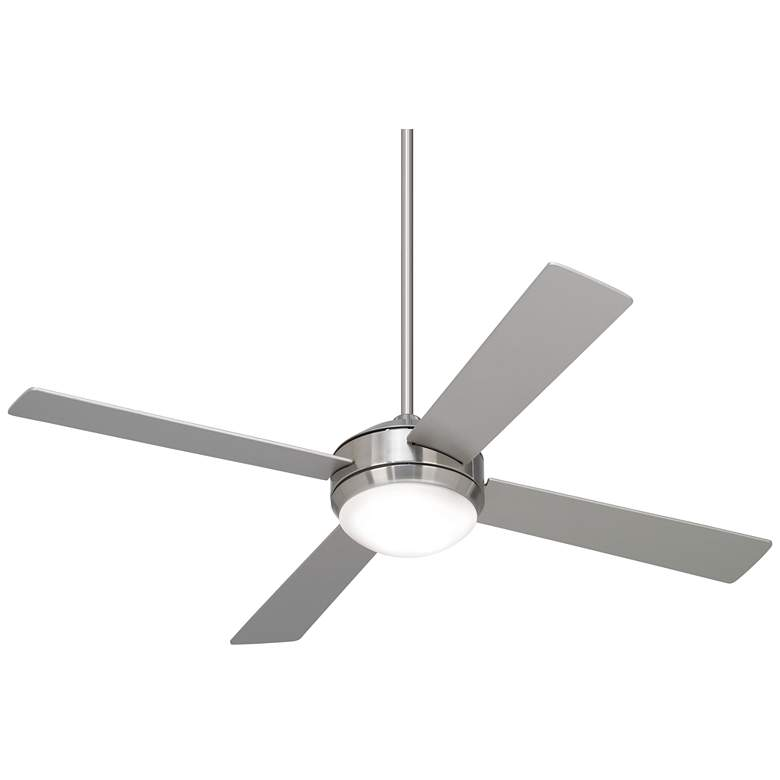 """52"""" Courier Brushed Nickel LED Ceiling Fan"""
