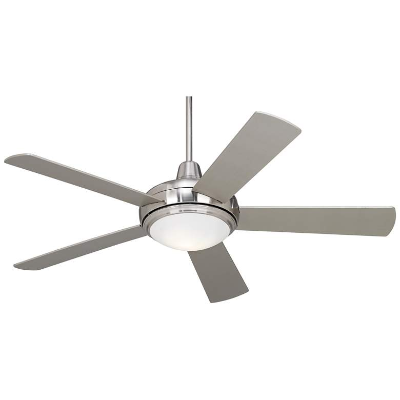 """52"""" Casa Compass™ Brushed Nickel LED Ceiling Fan"""