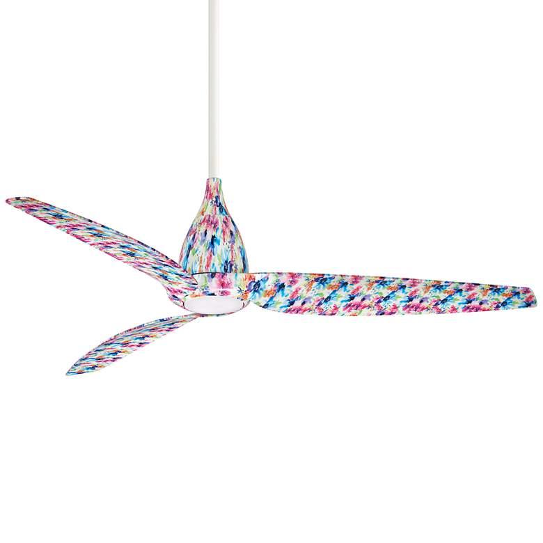 """60"""" Minka Aire Tear Flower LED Ceiling Fan"""