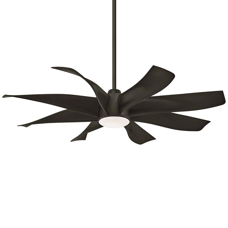 "60"" Minka Aire Dream Star Oil Rubbed Bronze LED Ceiling Fan"