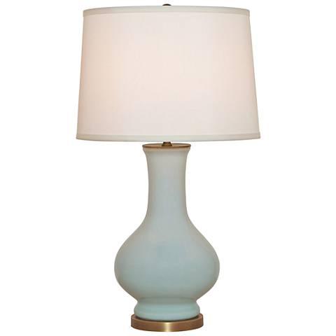Port 68 Dorothy Celadon Porcelain Table Lamp