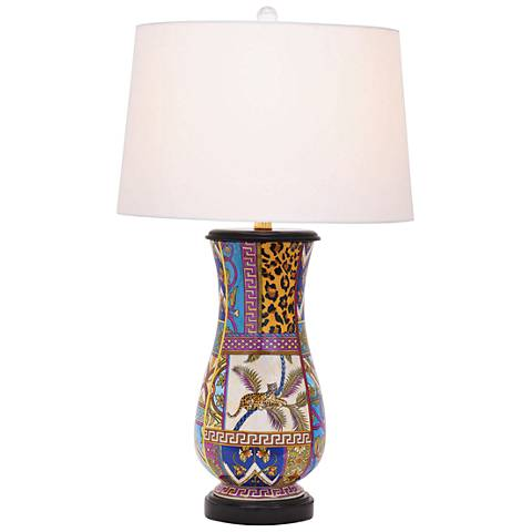Port 68 Gypsy Multi-Colored Kaleidoscope Table Lamp