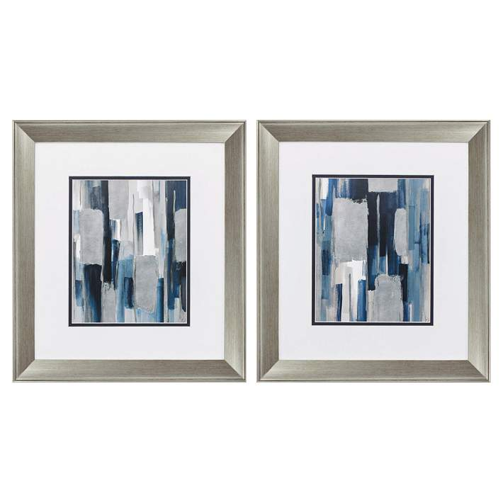 Mirage 18 High 2 Piece Framed Wall Art Set 60p45 Lamps Plus