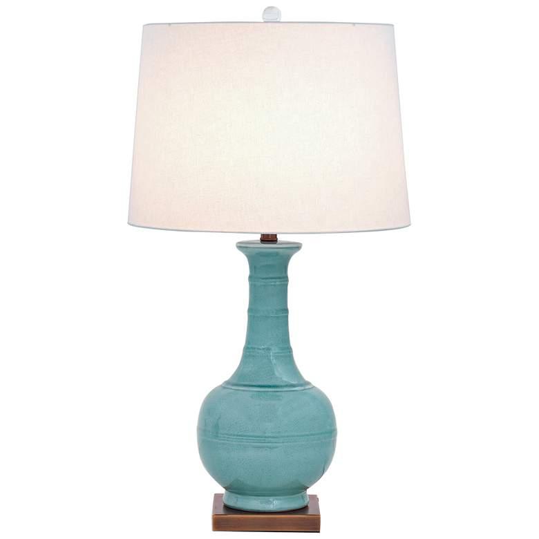 Port 68 Kelly Celadon Porcelain Table Lamp