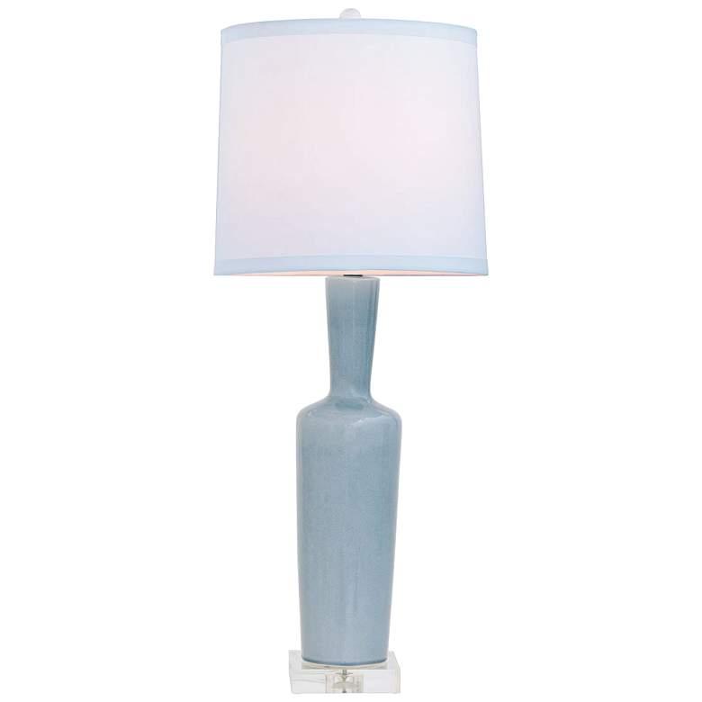 Port 68 Brentwood Smoke Porcelain Table Lamp