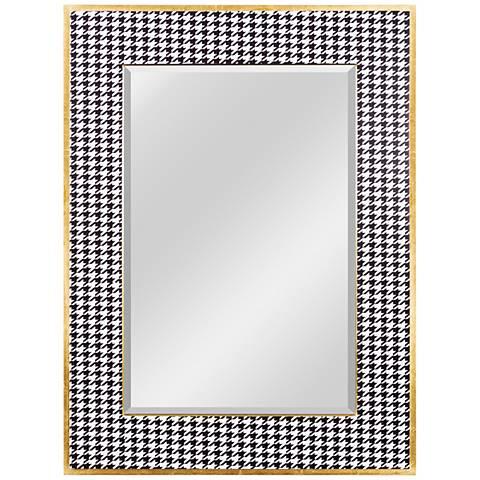 "Varaluz Casa Azzezzi Gold Dust 30"" x 40"" Wall Mirror"