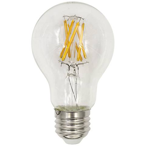 60W Equivalent Clear 8W LED Dimmable Standard Base Bulb