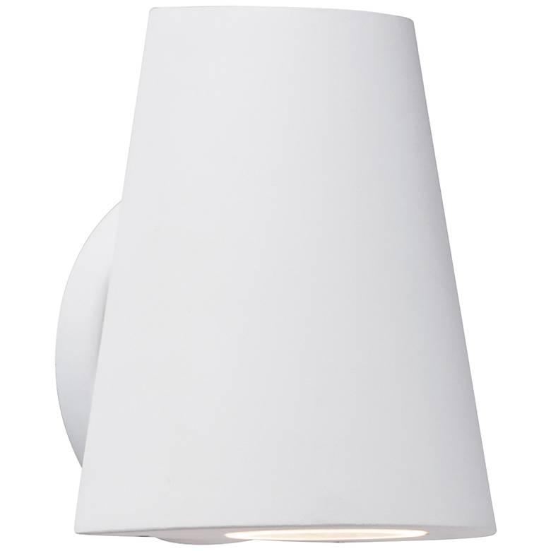 "Maxim Mini 6 1/4"" High White LED Outdoor Wall Light"